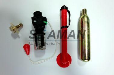 Riarmando la metropolitana orale della base della valvola degli accessori del giubbotto di salvataggio del dispositivo automatico del corredo tagli